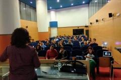 Rosa y su público