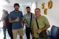 Ivan, Javi y Txema