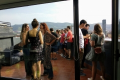 SEO en Terraza con Bilbao a nuestros pies