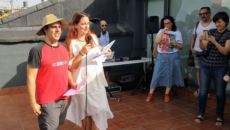 Gorka Goikoetxea y Lucia Marin presentan pasapalabra