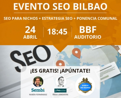 Evento SEO Bilbao Abril 2019
