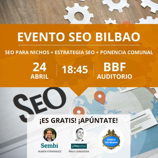 Evento SEO Bilbao Abril 2019