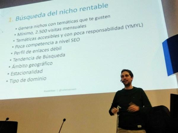Rubén Fernández - SEO para nichos