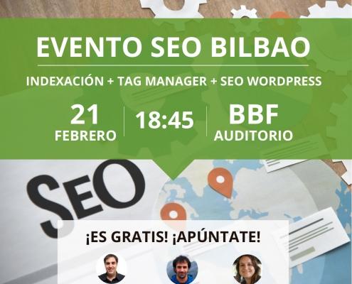 Evento SEO Bilbao Febrero 2019