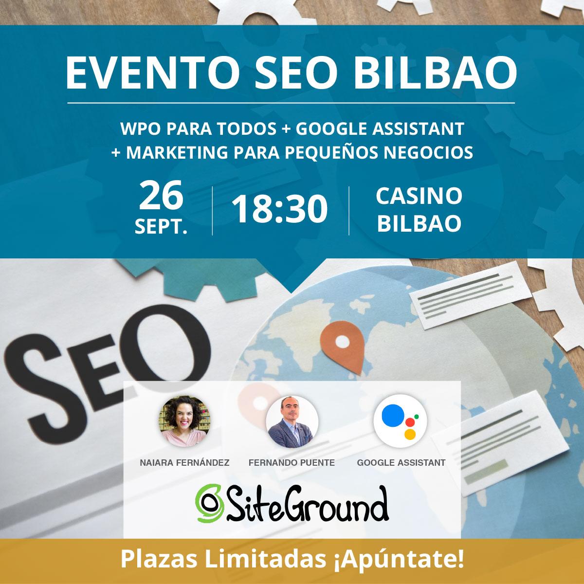 Evento SEO Bilbao septiembre 2019